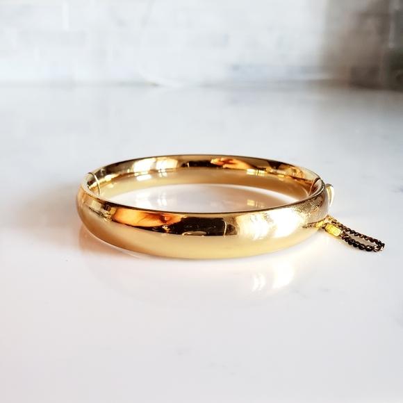 Vintage Monet Gold Tone Classic Bracelet